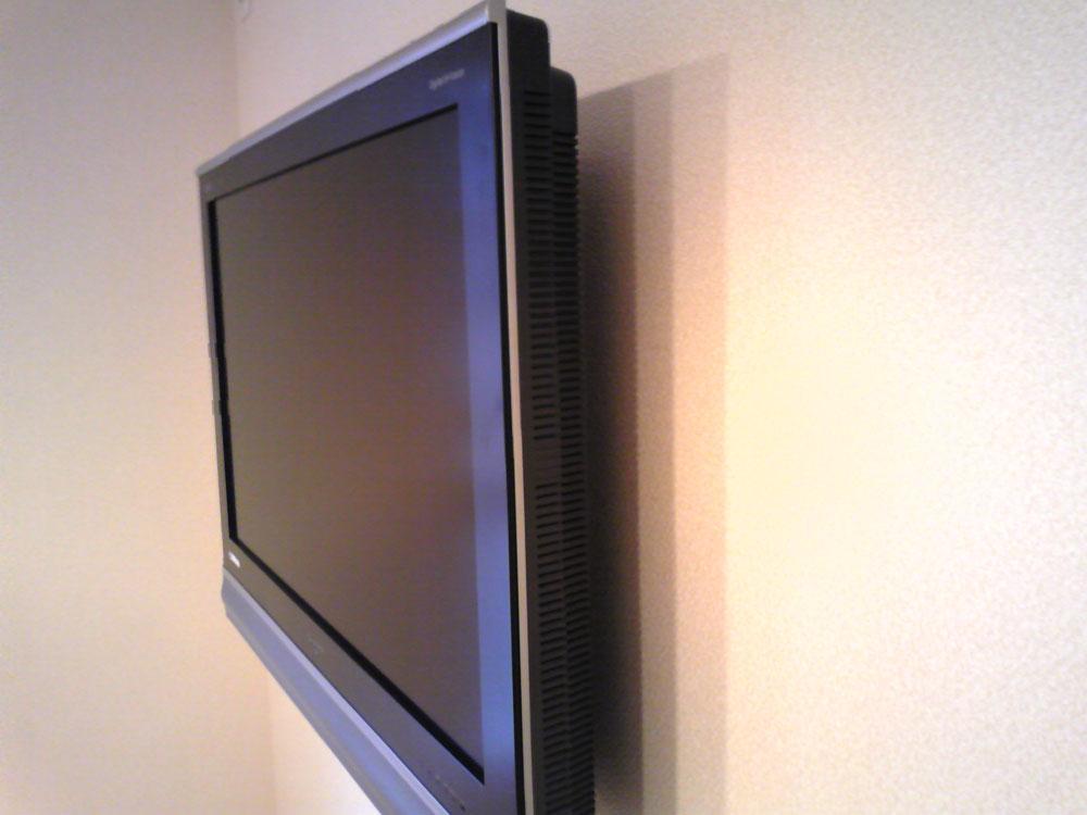 32インチのテレビ壁掛け