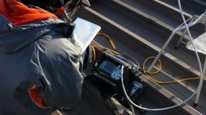 アンテナ研修 電波測定