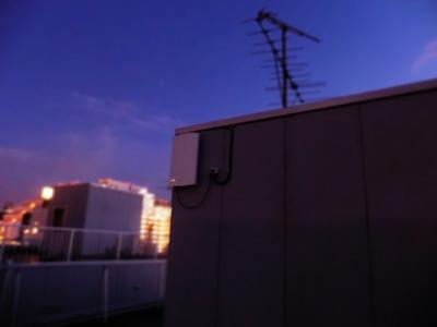 品川区のマンション2棟をUAH800一つで受信