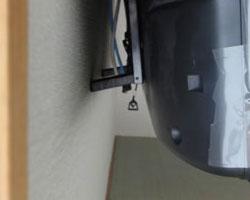 鎌倉市でテレビの壁掛け天吊り工事その3