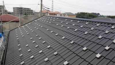 横浜太陽光パネル撤去塗装後