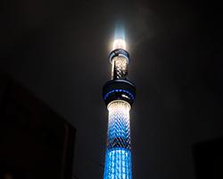 東京スカイツリーからのフルパワー試験電波2