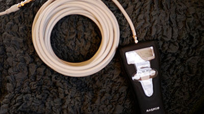 S5C-FB(10m)を接続して測定
