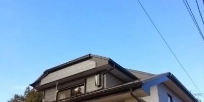 埼玉県北本市でフラットアンテナへの入替工事