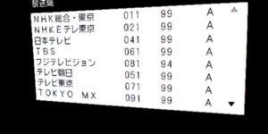 江戸川区ハウセット電波状況