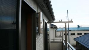 志木市でのフラットアンテナUAH800Lの施工例です