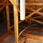 上尾市フラットアンテナ屋根裏設置施工例