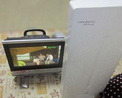 茨城県五霞町でUAD1900の室内受信です