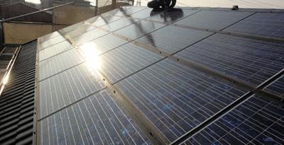 横浜太陽光パネル設置1