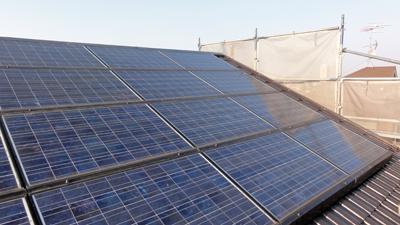 横浜太陽光パネル設置2