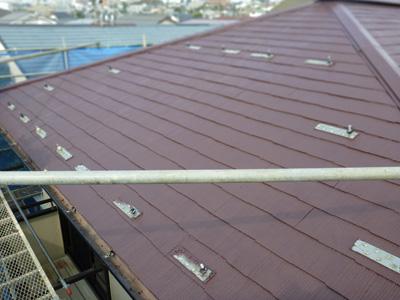 屋根再塗装後