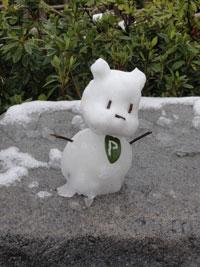 雪のプーさん