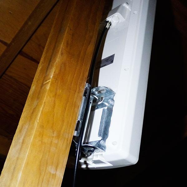 越谷市での天井裏アンテナ設置事例