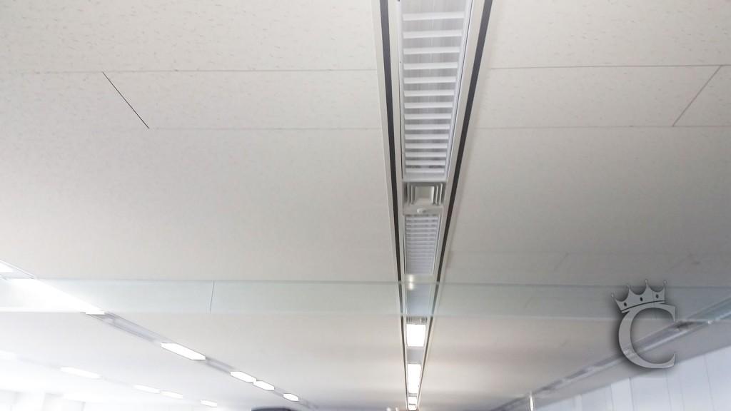 これからテレビを天吊りする天井です