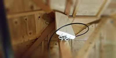 積水ハウス屋根裏アンテナ設置